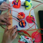 Playdough computer controllers